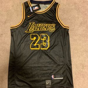 Los Angeles Lakers Lebron James Nike Jersey